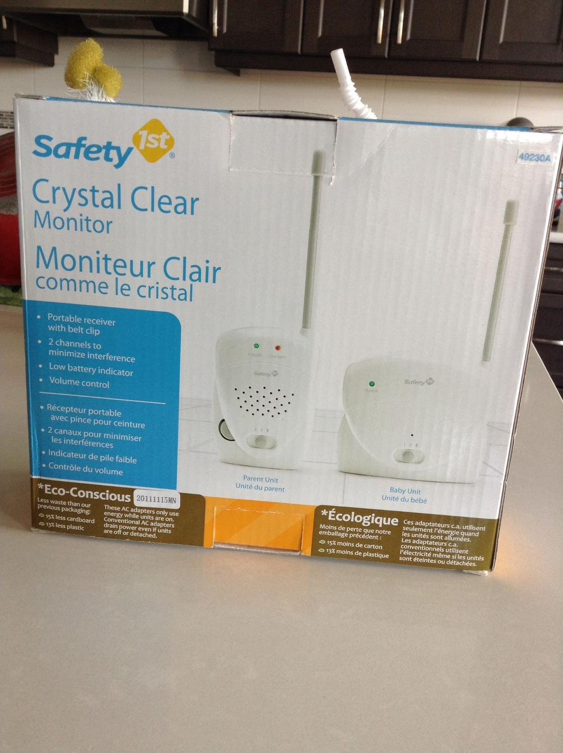 find more safety first baby monitor for sale at up to 90 off calgary ab. Black Bedroom Furniture Sets. Home Design Ideas