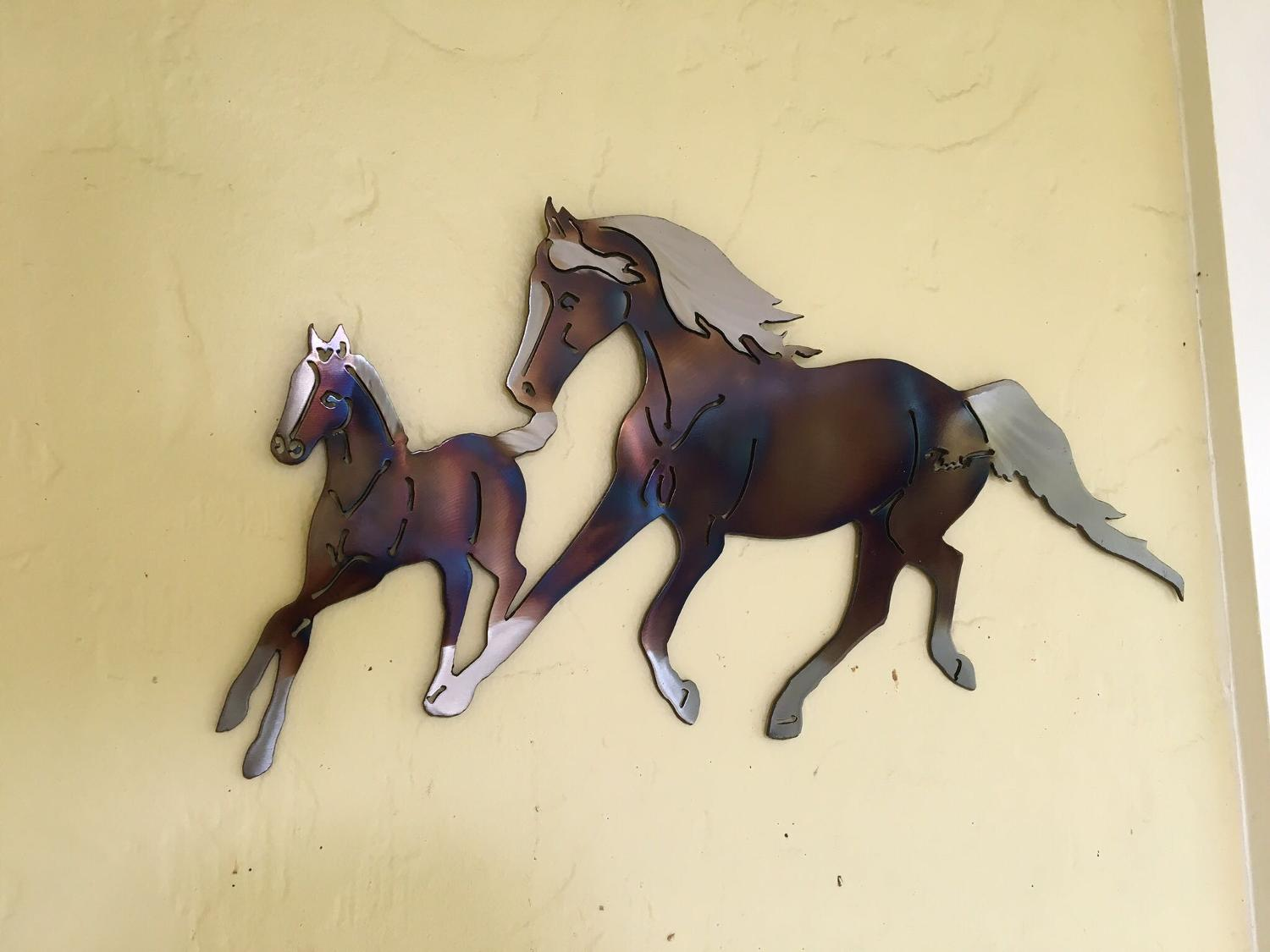 Best running free art by benedict metal artistry for for World decor auction san antonio