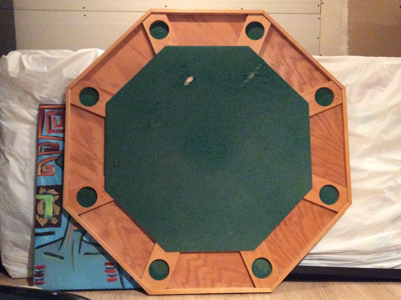 best vintage poker table table de poker vintage for sale in montr al quebec for 2018. Black Bedroom Furniture Sets. Home Design Ideas