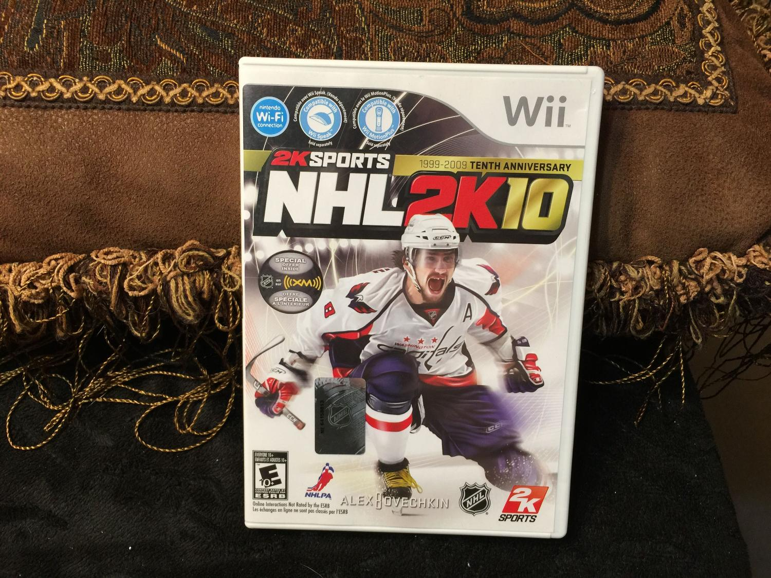 nhl 2k10 wii instruction manual