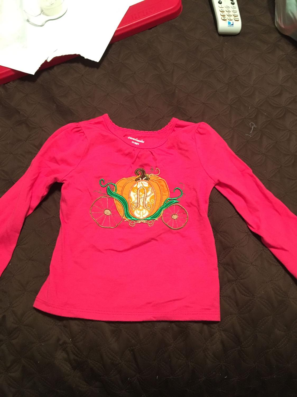Best a monogrammed appliqu shirt for sale in mobile for Applique shirts for sale