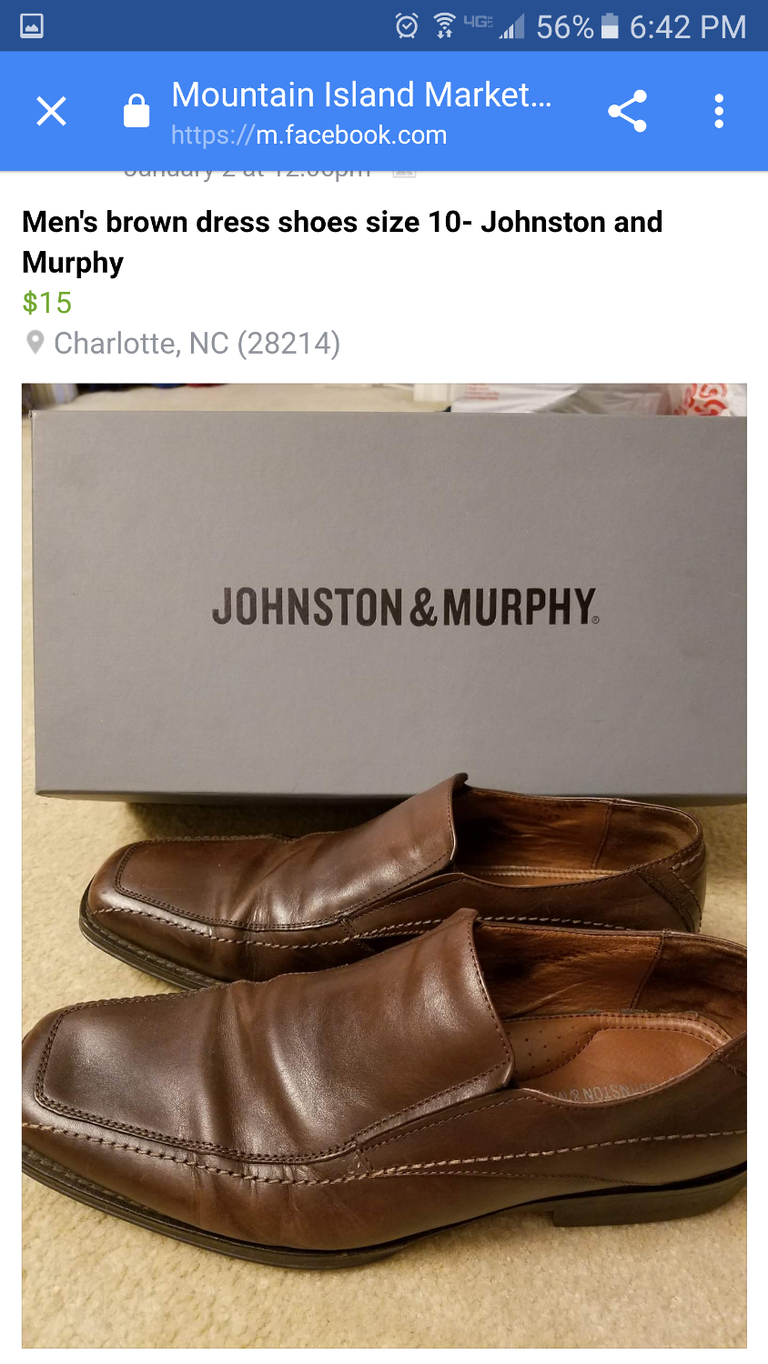 ... Men's Brown Dress Shoes for sale at up to 90% off - Huntersville, NC