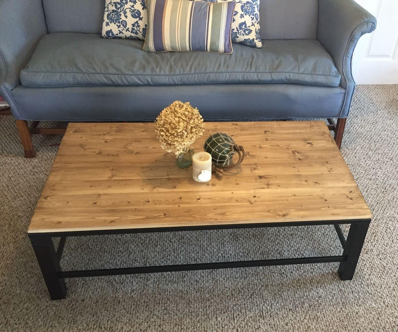 Best modern farmhouse coffee table side table for sale for Modern farmhouse coffee table