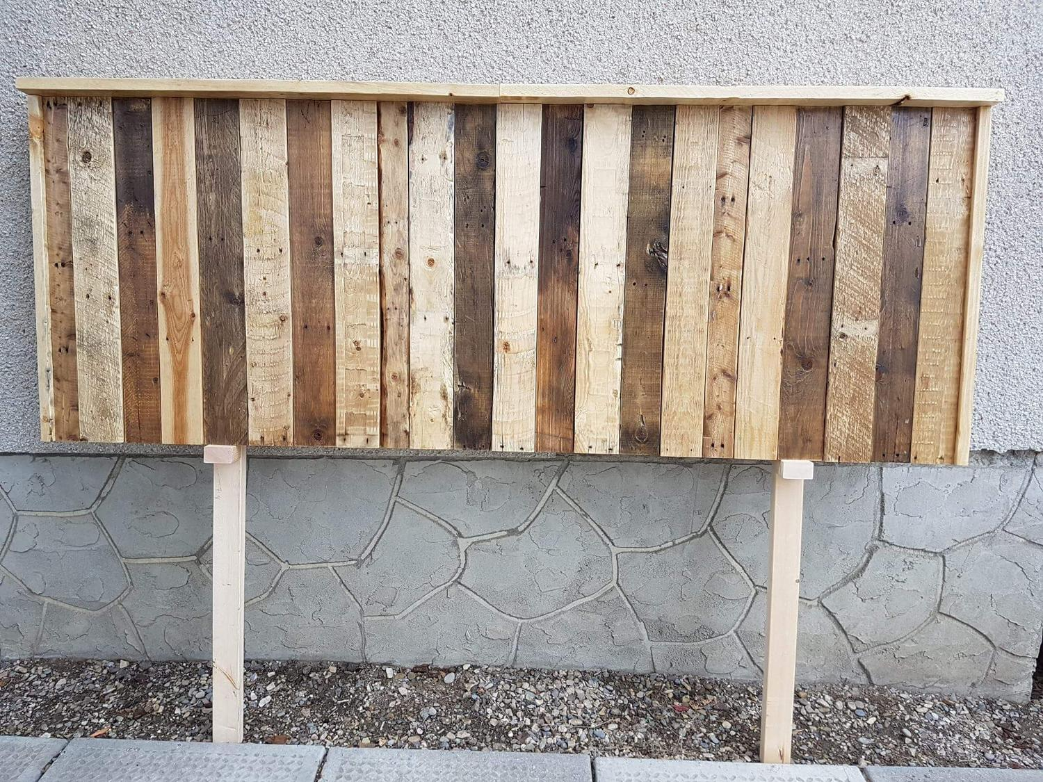 Best Handmade Reclaimed Wood King Or Queen Size Headboard
