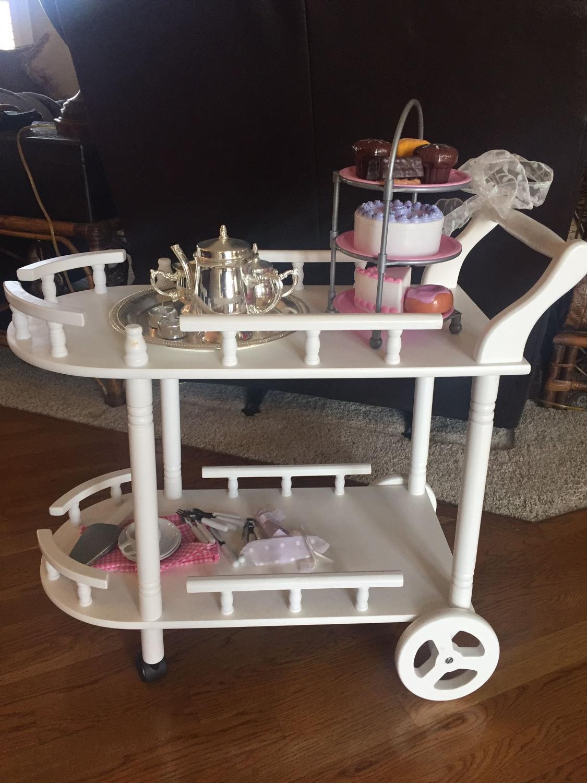 Find More Children S White Tea Cart Pottery Barn For Sale