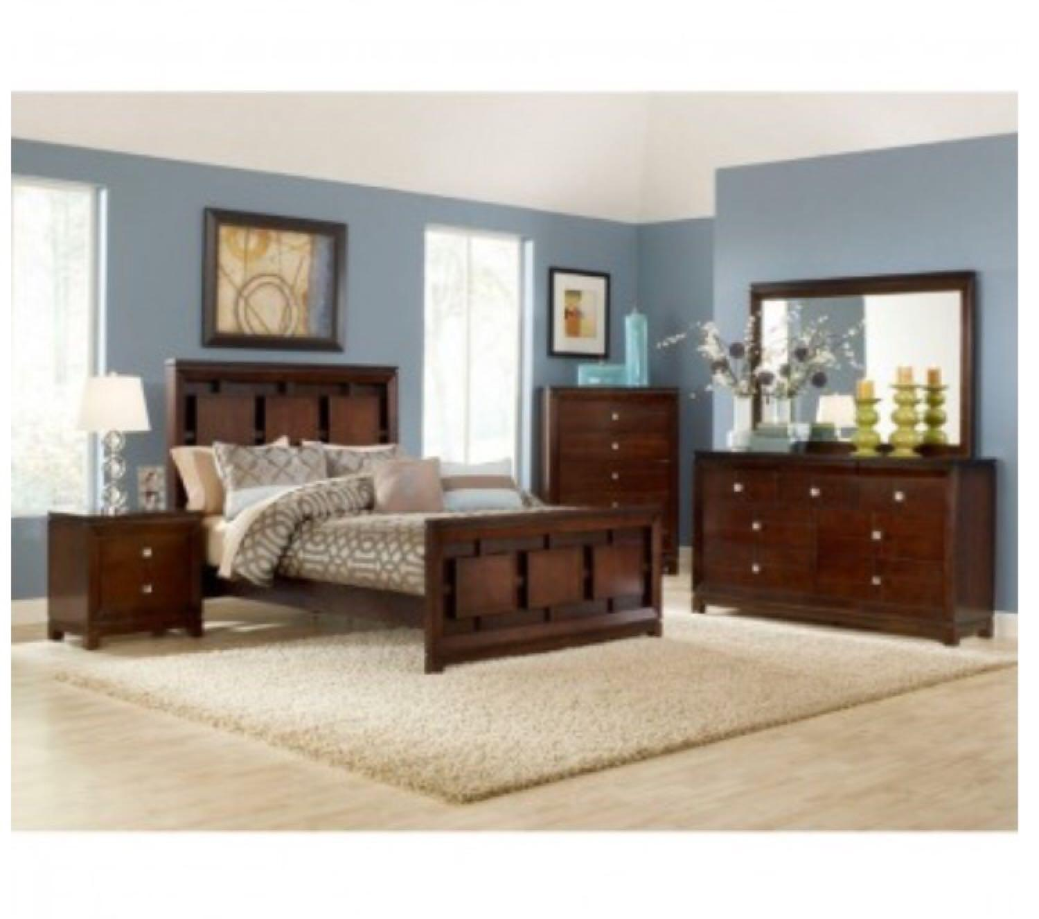 Best Brand New Bedroom Set Delivered Yesterday Nothing Wrong With It Too Dark For My