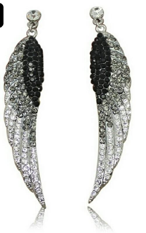 Best beautiful rhinestone cocktail earrings for sale in for Jewelry stores in worcester massachusetts