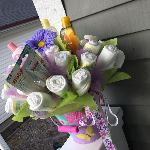 Best Handmade Diaper Cakes, Bouquets And Vehicles for sale in ...
