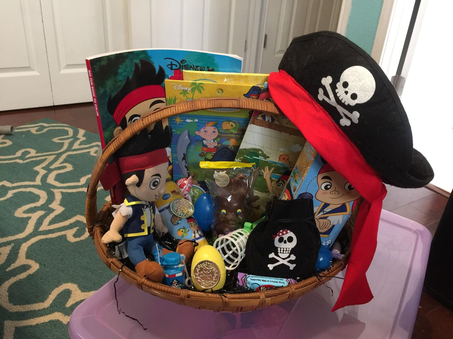 Find More Jake And Neverland Pirate Easter Basket For Sale