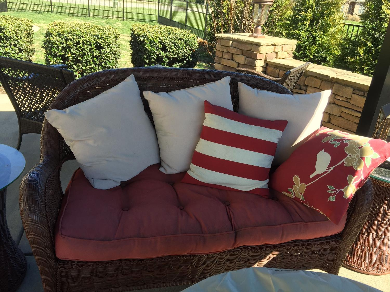 Find More Outdoor Cushions For Pier One Furniture For Sale At Up To 90 Off Hendersonville Tn