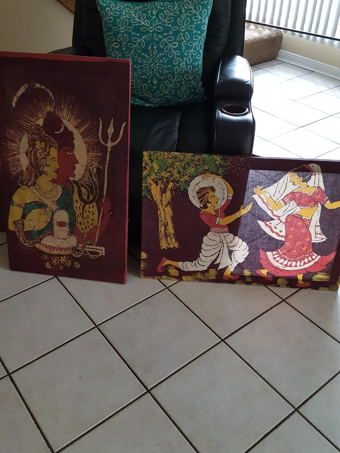 Best 2 Indian Home Decor Canvas For Sale In Friendswood Texas For 2017