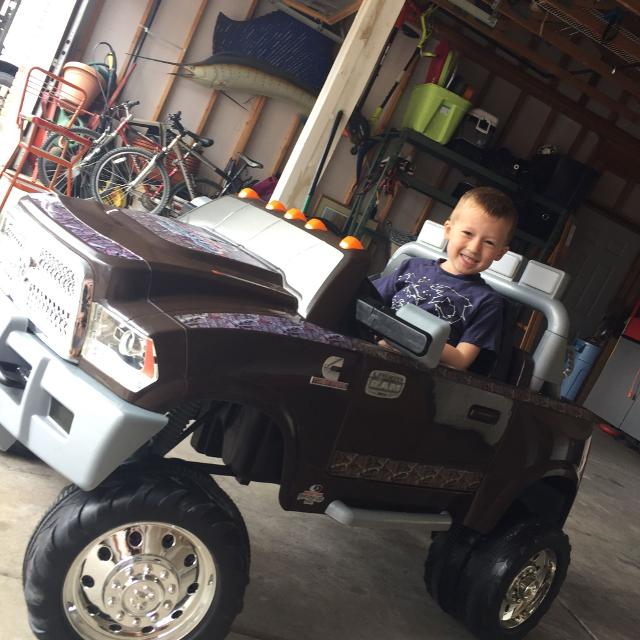 Best Dodge Ram Power Wheel Kids Truck For Sale In