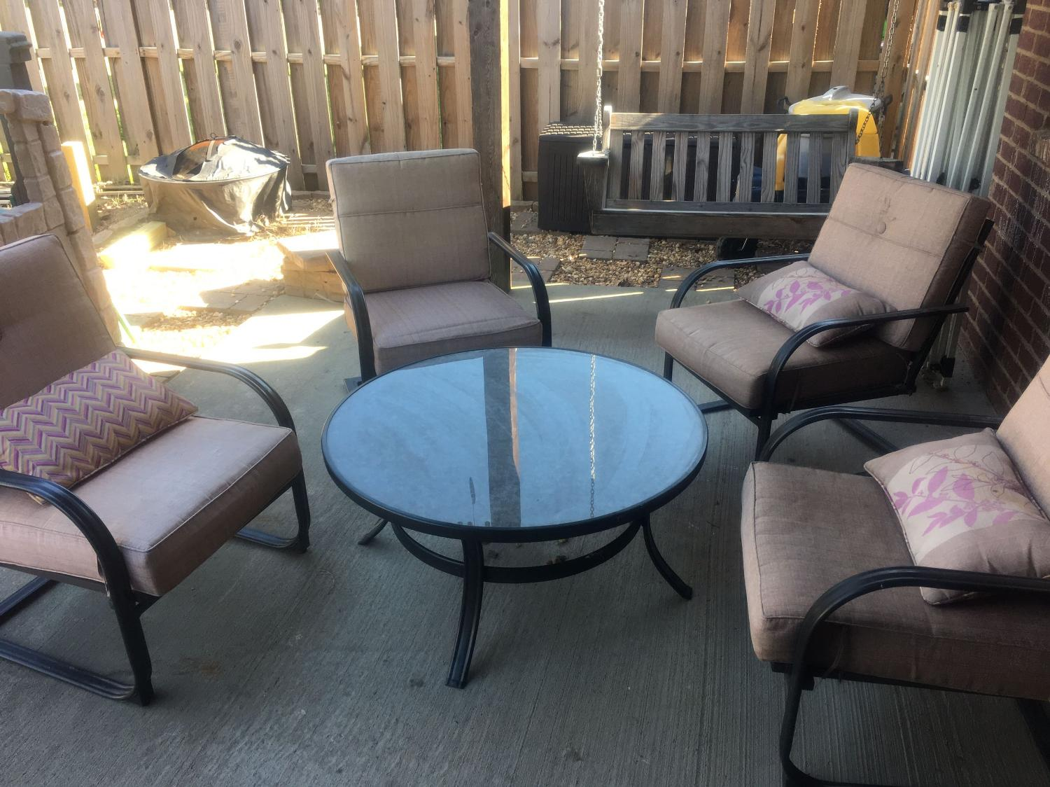 Find more patio furniture conversation set for sale at up for Furniture 90 off