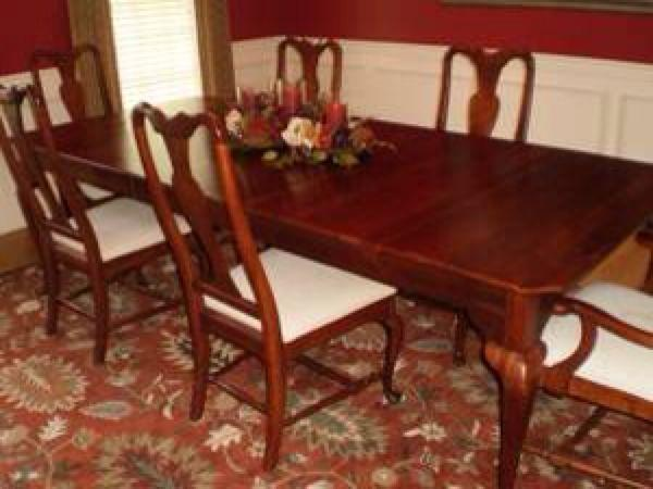 Best Bob Timberlake Lexington Dining Table W/chairs for sale