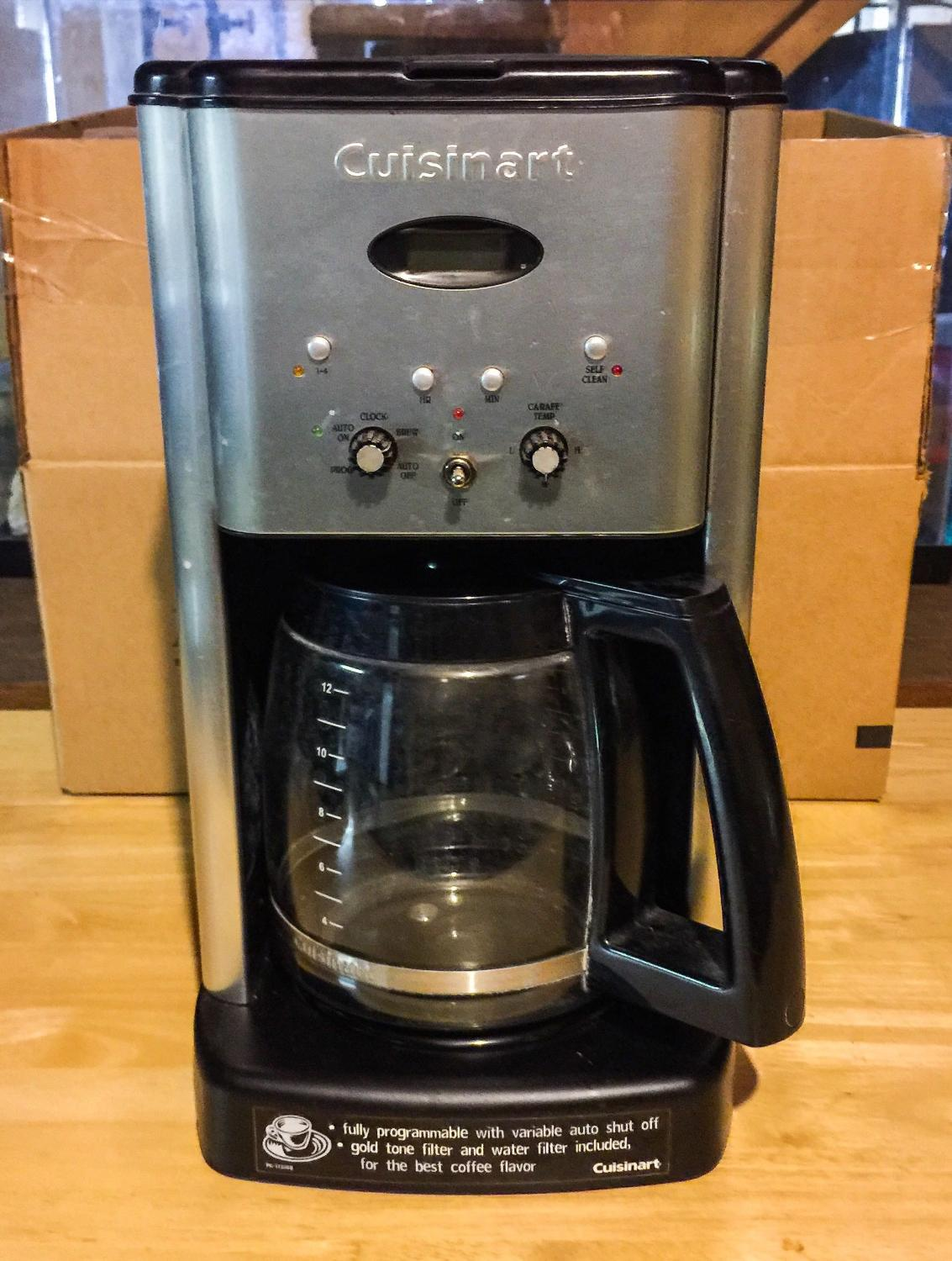 Find more Cuisinart Coffee Maker Please Read The Entire Description Below for sale at up to 90% ...