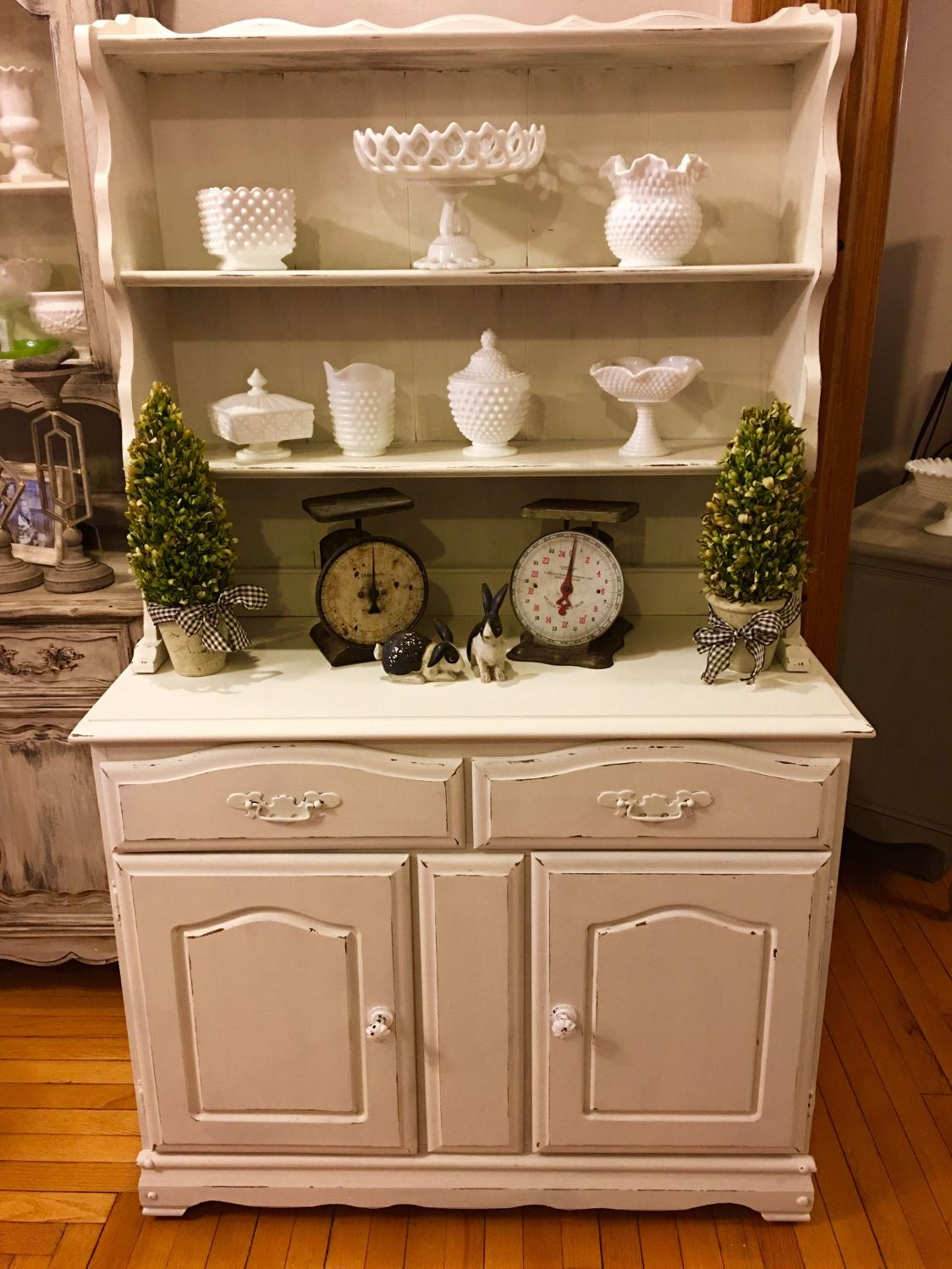 Find more restyled modern farmhouse hutch for sale at up for Modern farmhouse for sale