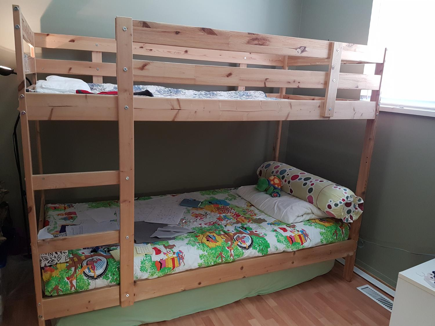 Find more vguc ikea bunk beds for sale at up to 90 off for Beds on sale ikea