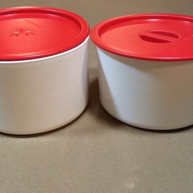 Tupperware Coffee And Filter Holders