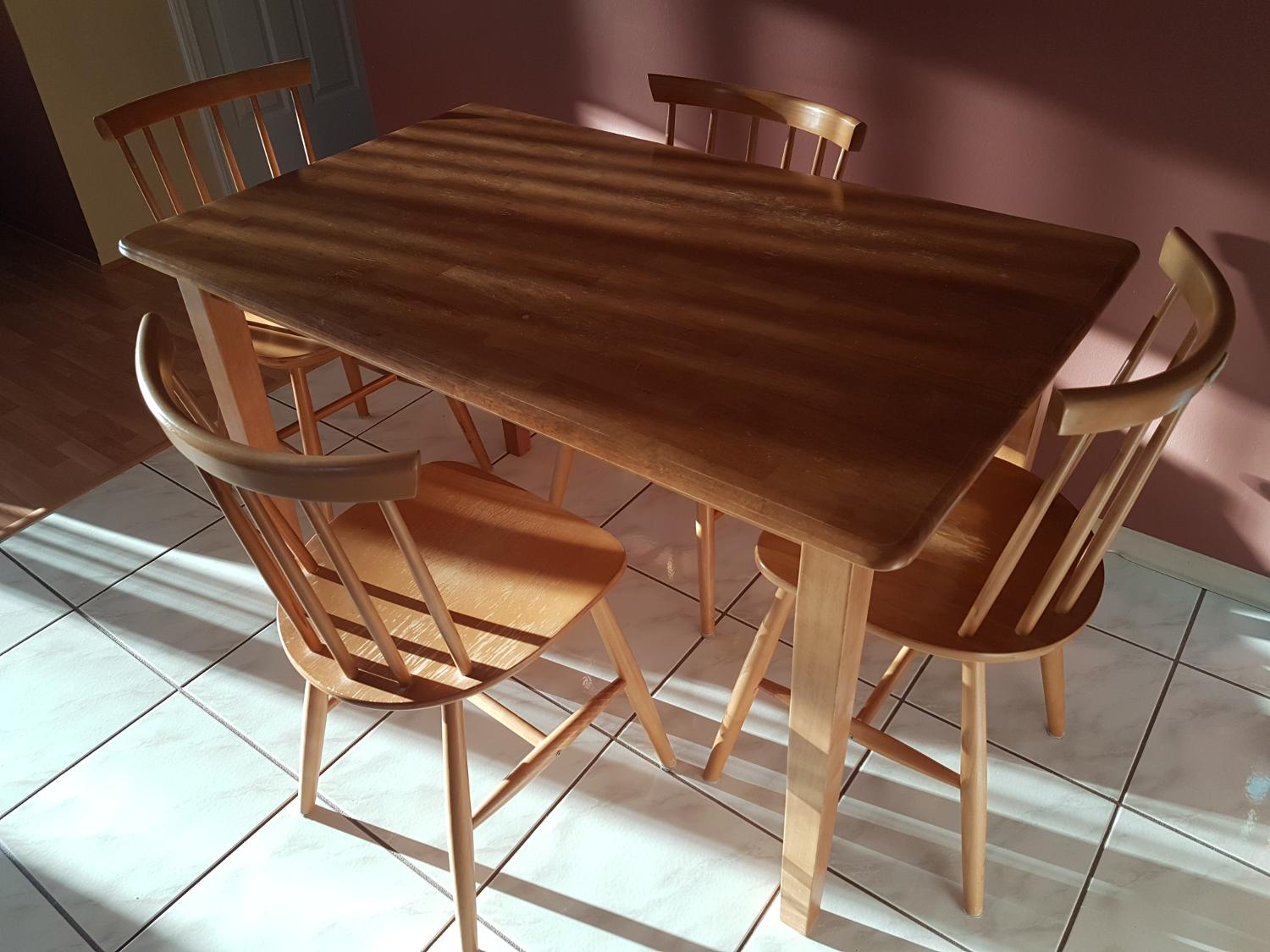 Find More Guc Kitchen Table And 4 Chairs For Sale At Up To 90 Off Richmond