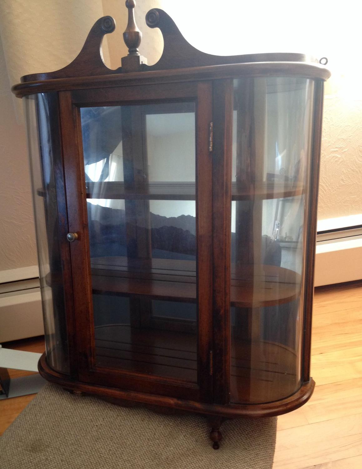 Find more vintage curio cabinet wall mount for sale at up