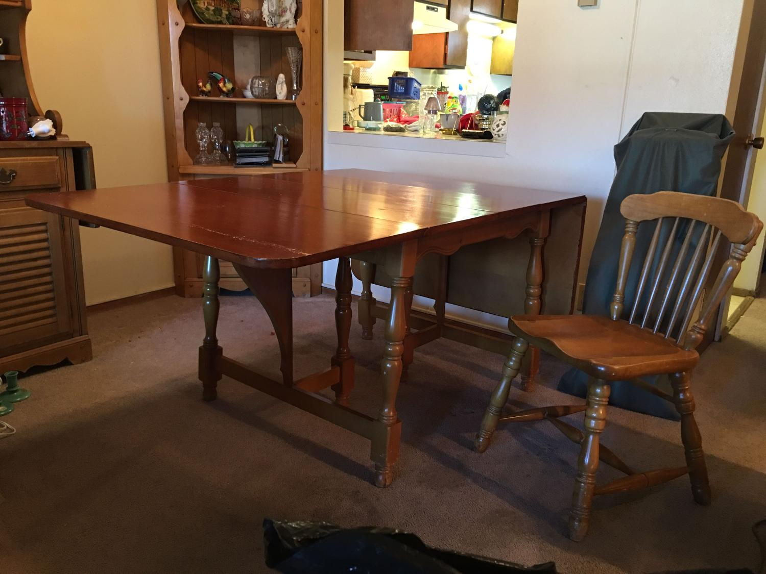 Find more vintage maple dining table set for sale at up to for Furniture ellensburg