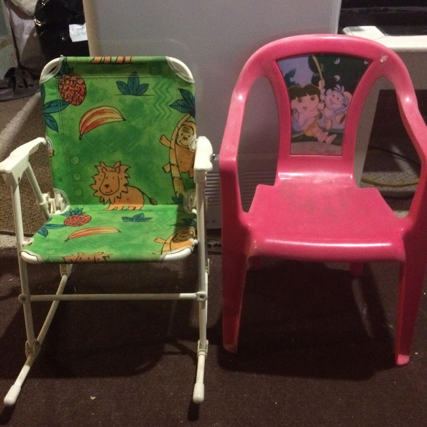 Find More Kids Chairs Rocking Lawn Chair Amp Pink Dora For