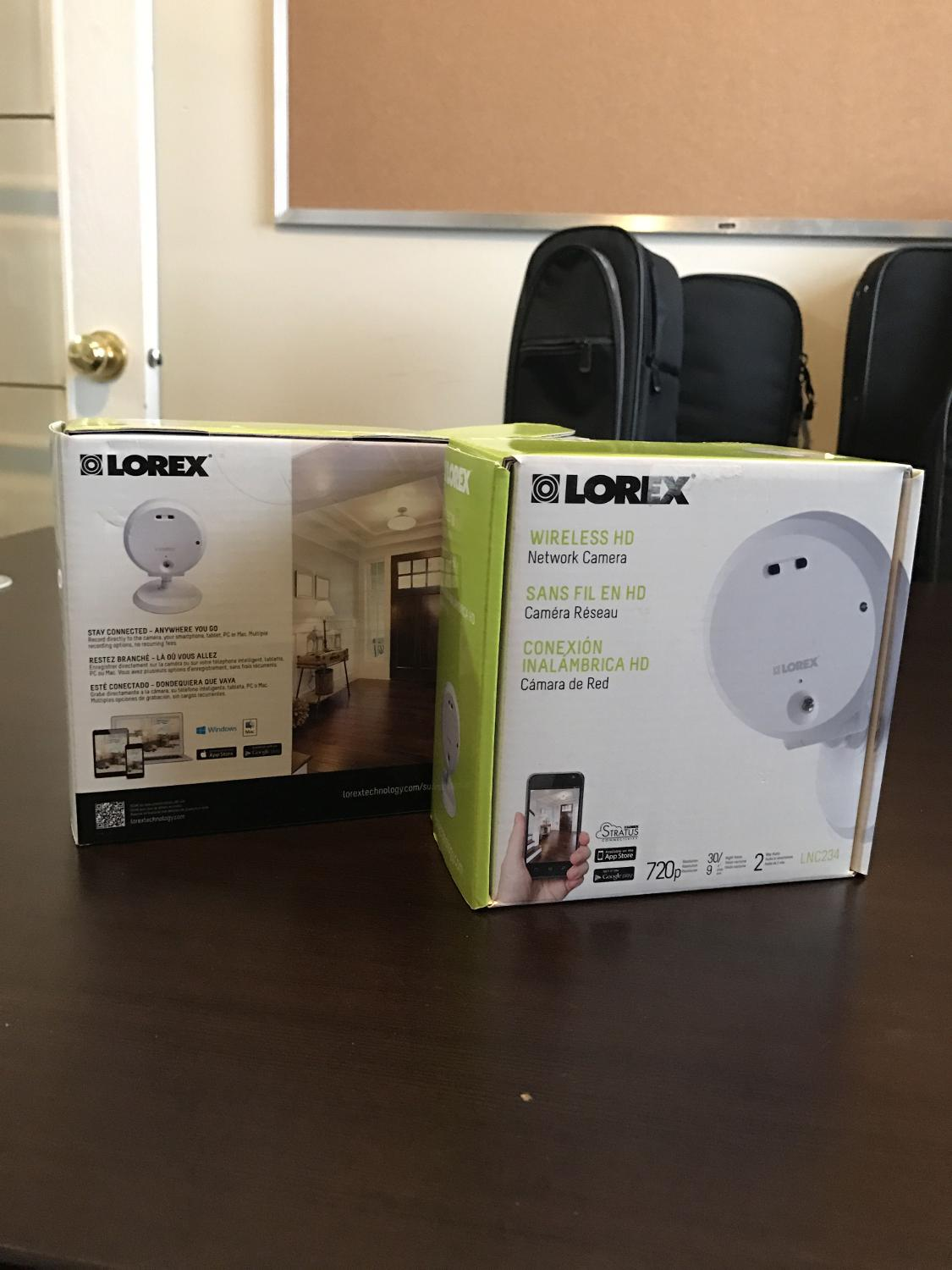 find more lorex camera monitor system for sale at up to 90 off airdrie ab. Black Bedroom Furniture Sets. Home Design Ideas