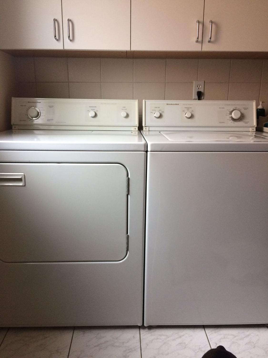 find more kitchenaid surecare washer and dryer for sale at