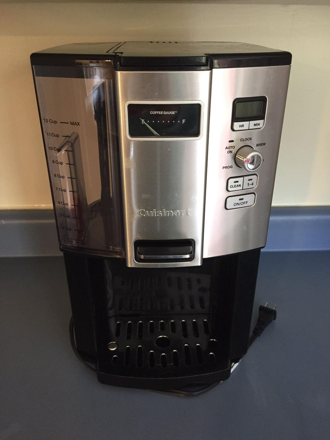 Cuisinart Coffee Maker Filter Canadian Tire : Find more Cuisinart On-demand Coffee Maker for sale at up to 90% off - Victoria, BC