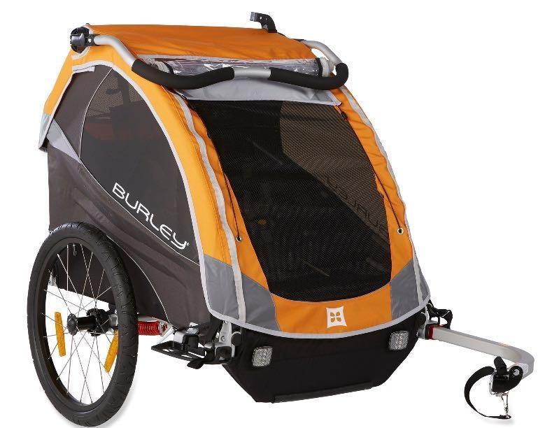 find more burley d 39 lite bike trailer jogger kit for sale. Black Bedroom Furniture Sets. Home Design Ideas