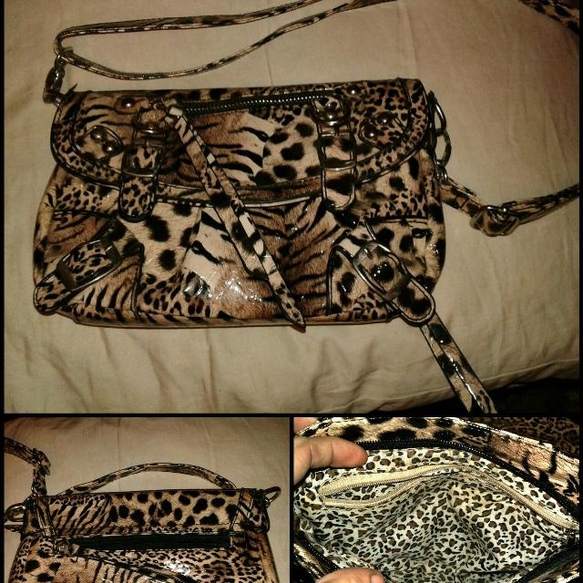 5e593be0bb089e Best Brown And Black Leopard Print Crossbody Bag for sale in Lake Elsinore,  California for 2019