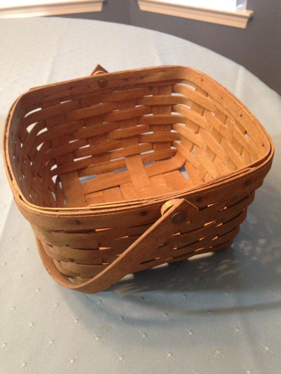 Best basket longaberger for sale in pensacola florida for Longaberger baskets for sale