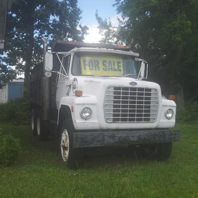 best 1984 ford l9000 dump truck for sale in greensboro north carolina for 2018. Black Bedroom Furniture Sets. Home Design Ideas