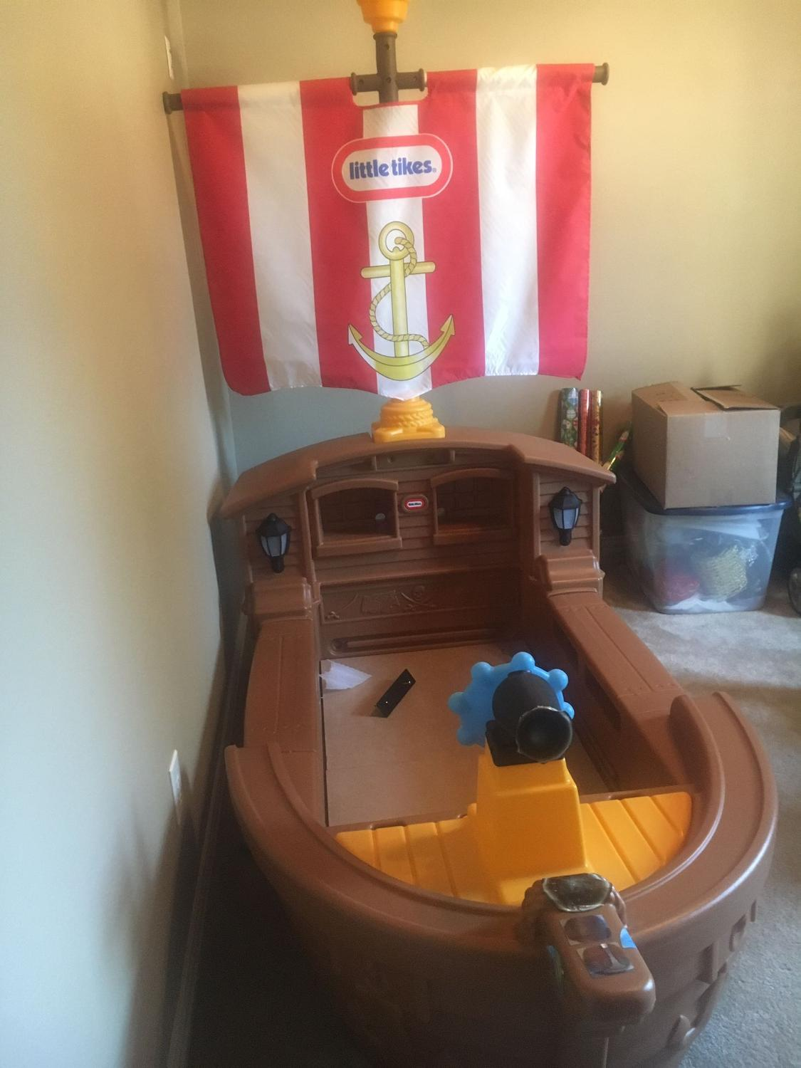 Find more Little Tikes Pirate Ship Bed Toddler for sale at ...