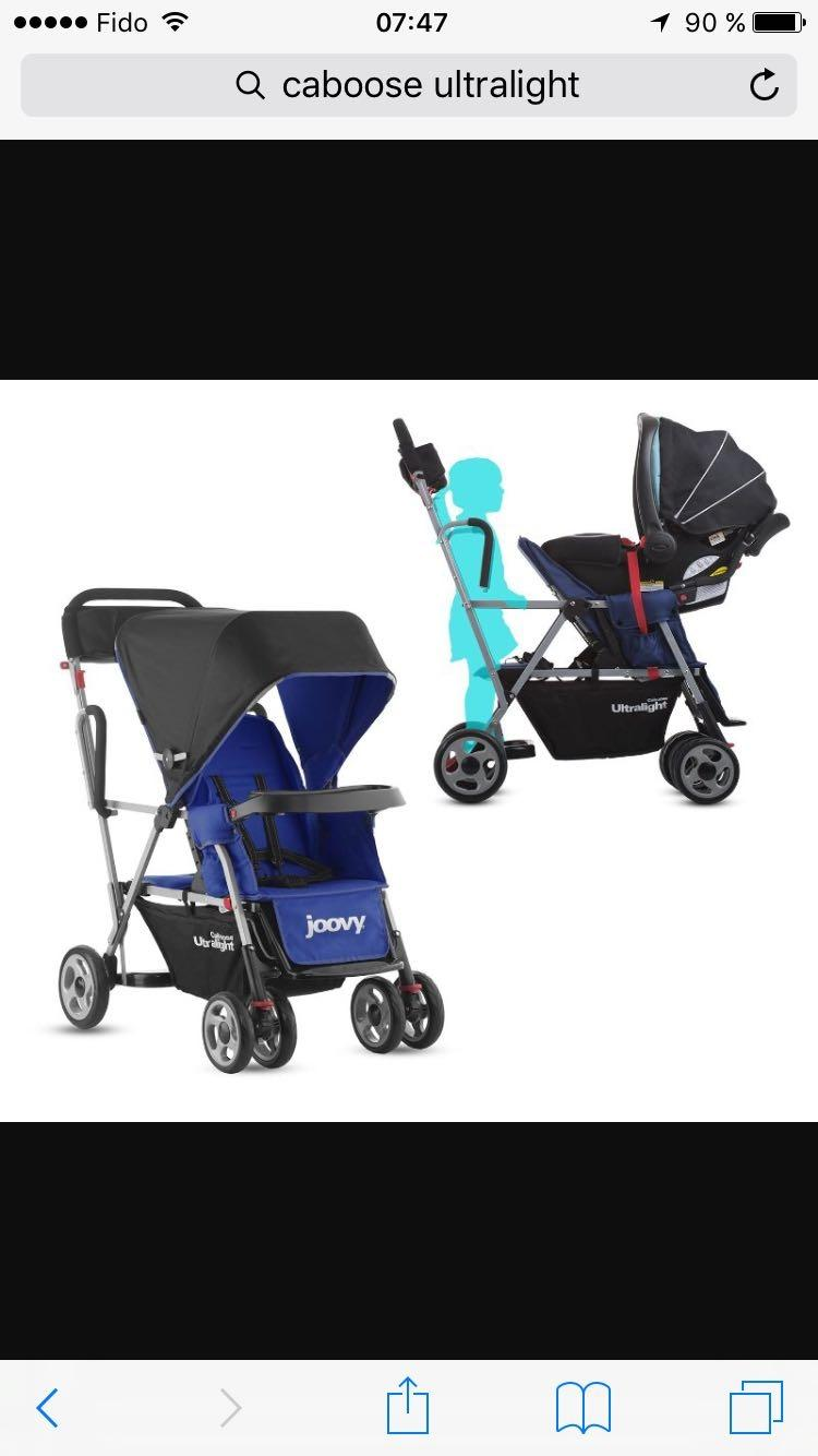 Find More Double Stroller Sit And Stand Ultralight Joovy