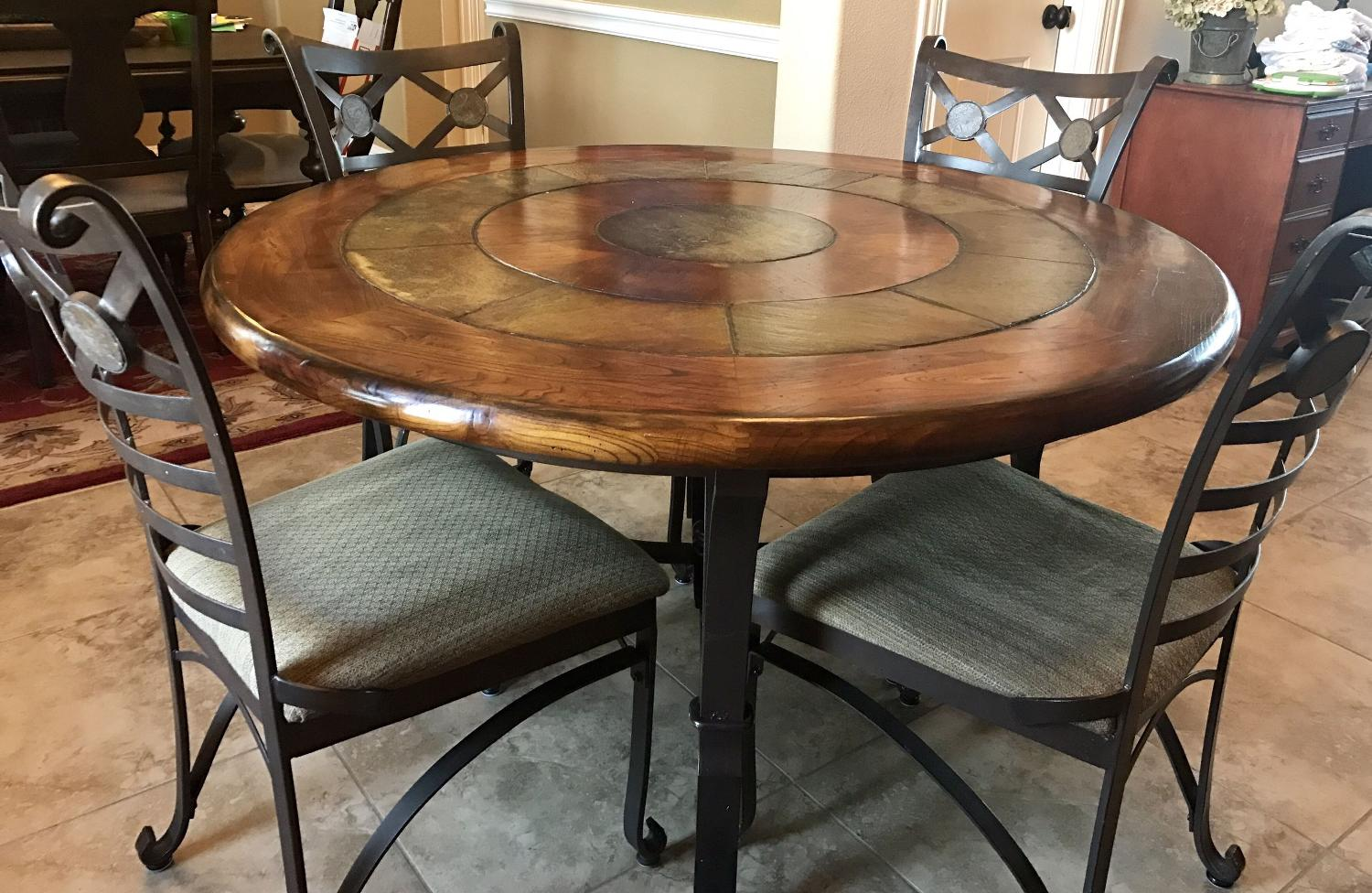 find more 52 round kitchen table for sale at up to 90