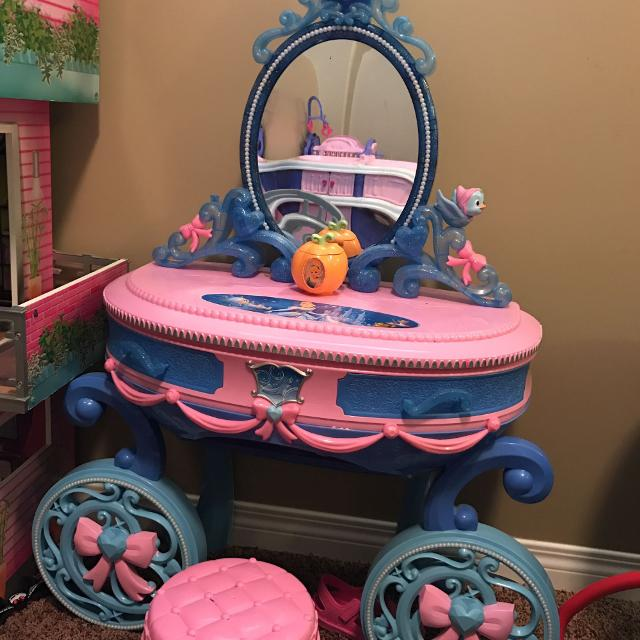 Find more cinderella makeup table for sale at up to 90 off cinderella makeup table watchthetrailerfo