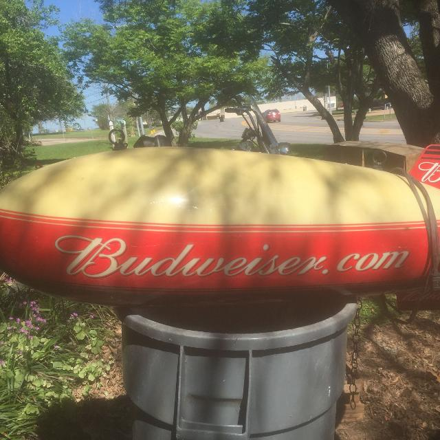 Find More Budweiser Blimp Pool Table Light For Sale At Up