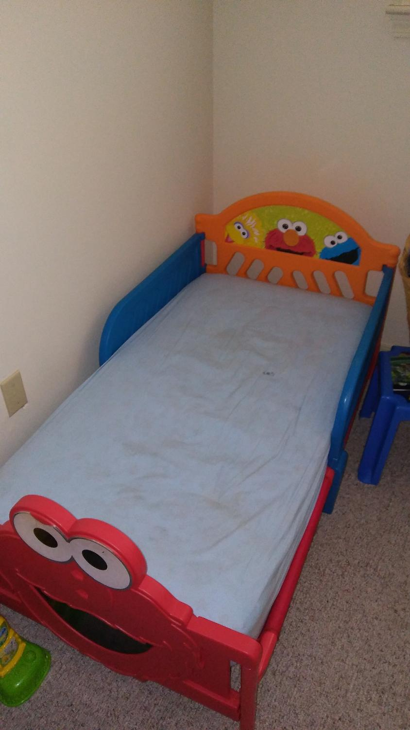 Best Elmo Toddler Bed With Mattress For Sale In Mobile