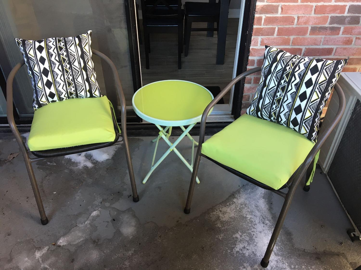 Find more outdoor chairs and folding table for sale at up for Outdoor furniture quebec