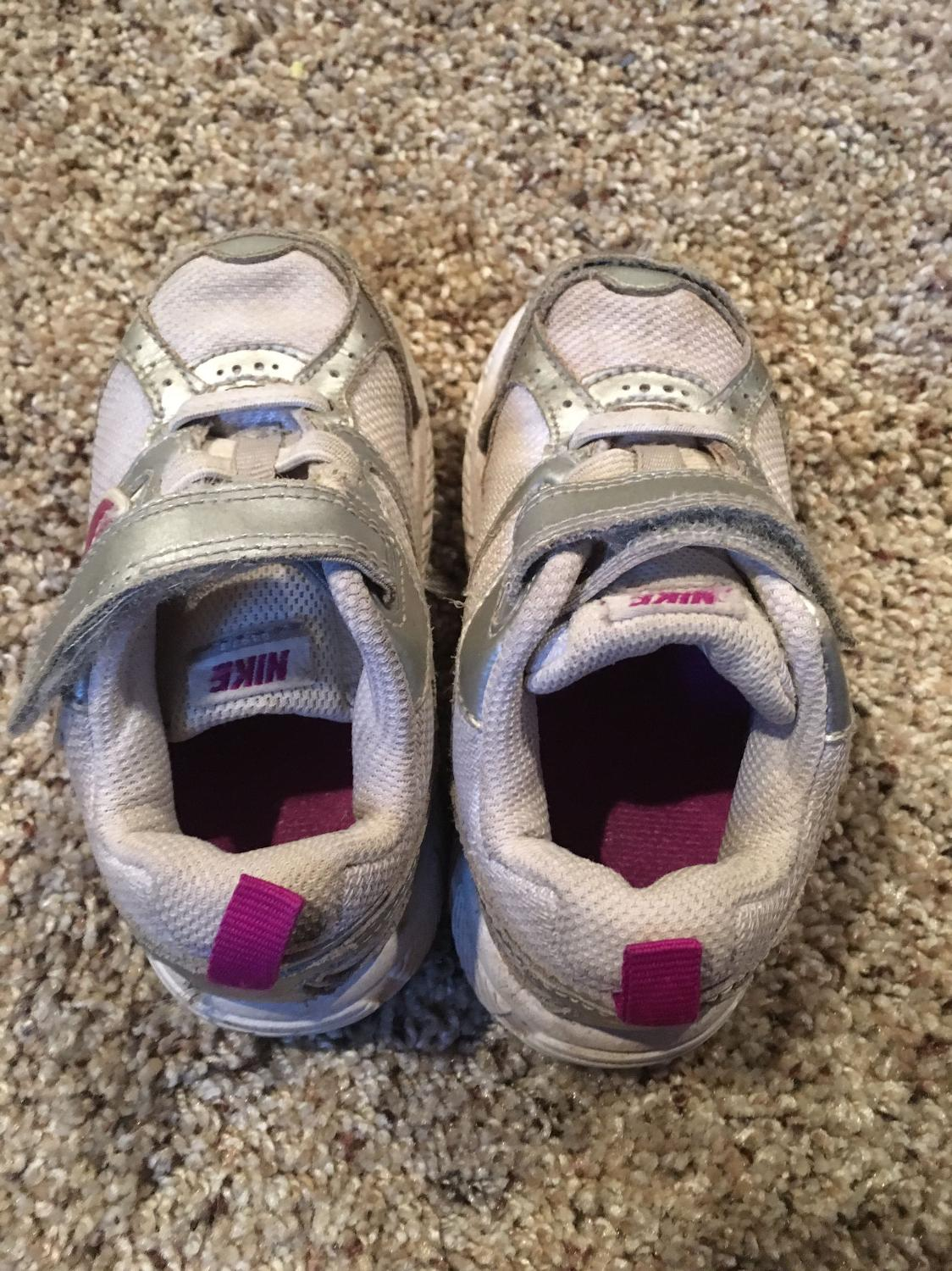 Find more Nike Toddler Girls Shoes (size 7) for sale at up ...