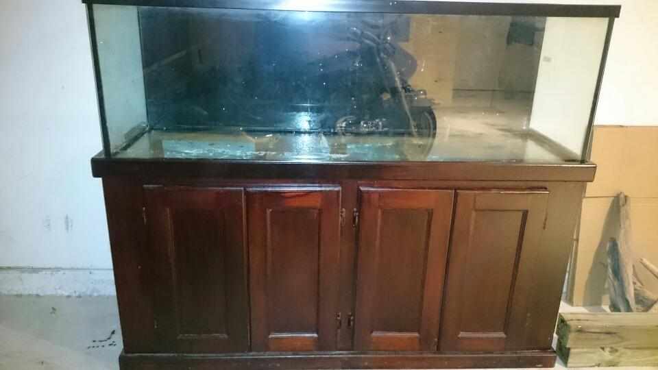 Find more 100 gallon fish tank with wooden sturdy stand for 100 gallon fish tank with stand
