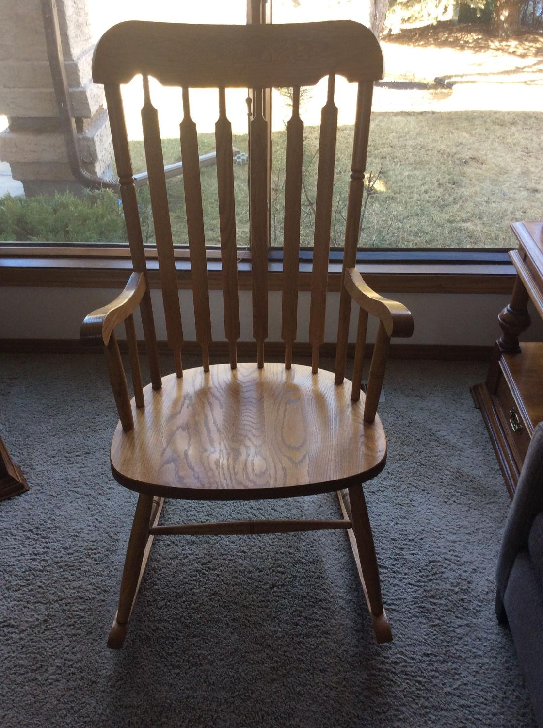 Best Wooden Rocking Chair For Sale In Calgary Alberta For 2017. Full resolution  portraiture, nominally Width 1120 Height 1500 pixels, portraiture with #4F5B7C.
