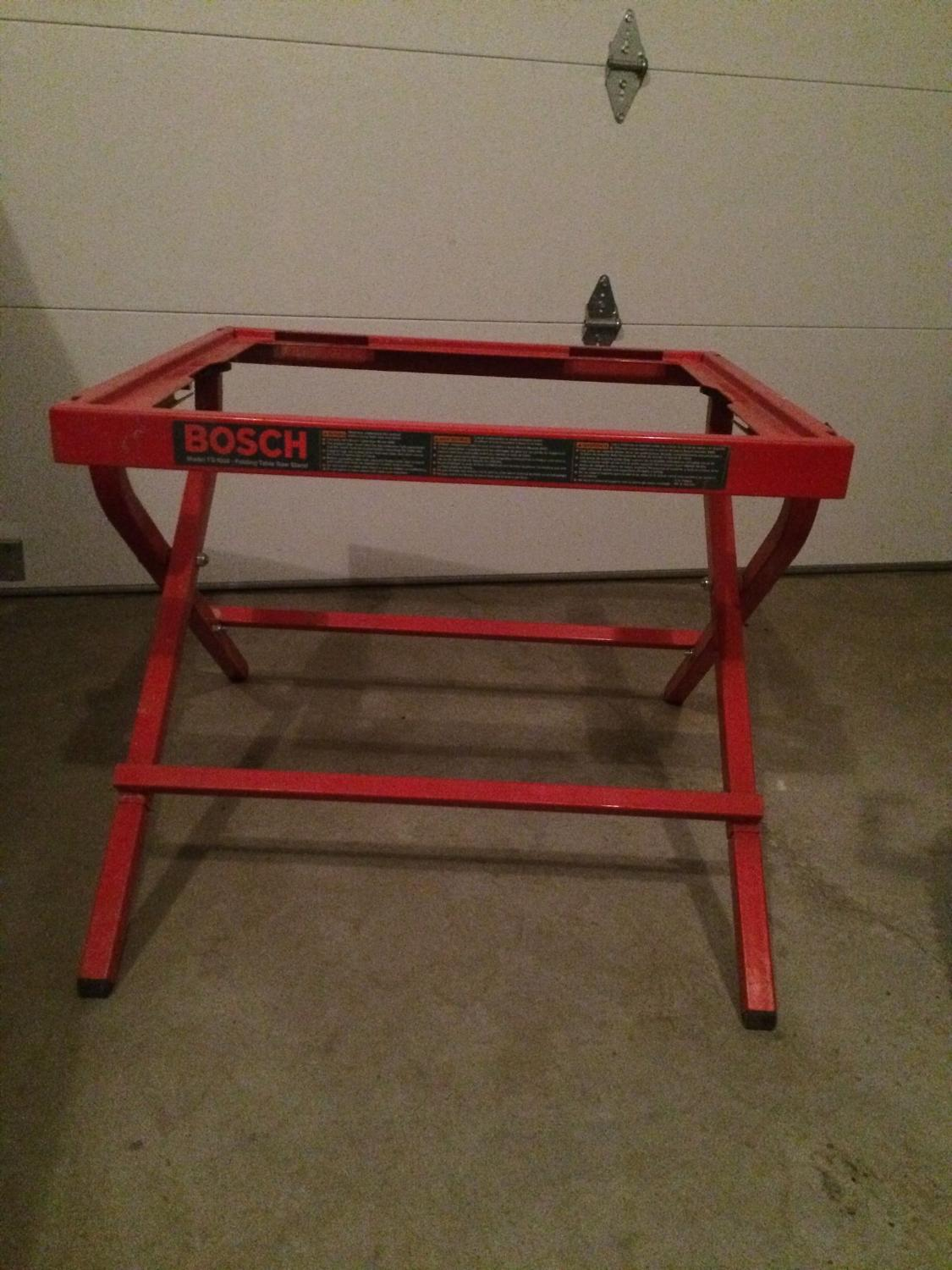 Find More Bosch Ts1000 Portable Table Saw Stand For Sale At Up To 90 Off Airdrie Ab