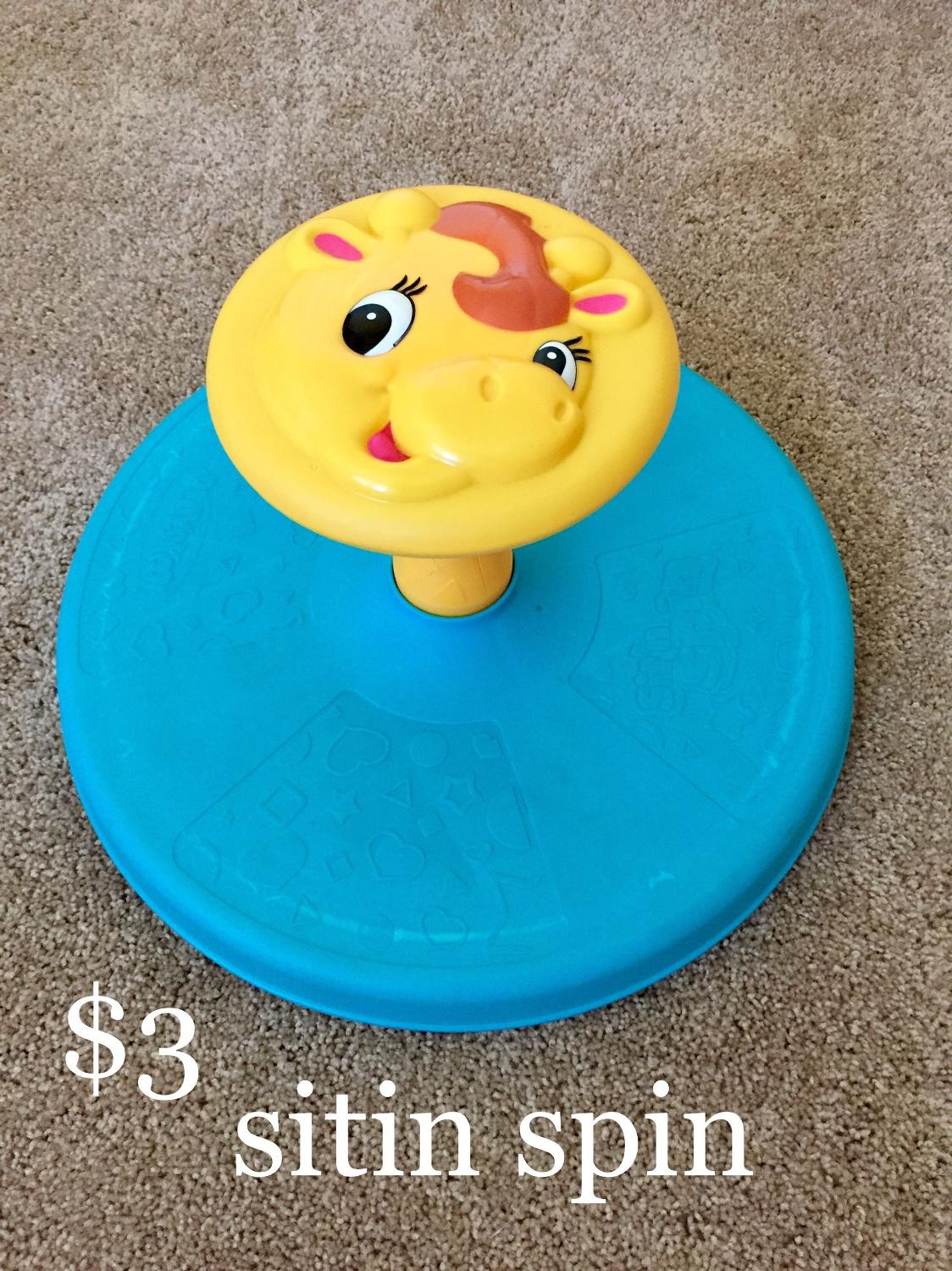 Best Playskool Giraffalaff Sit N Spin For Sale In