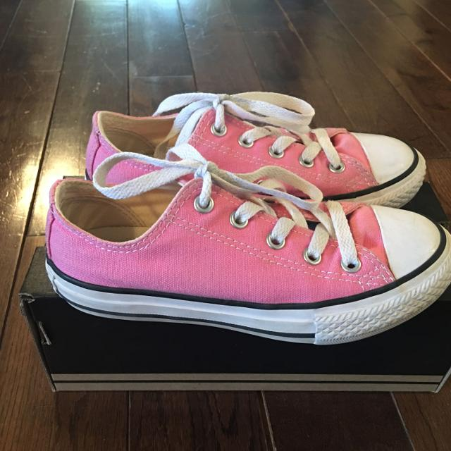b2ae4c3ca758 Find more Girls Pink Converse Shoes Size 13. for sale at up to 90% off