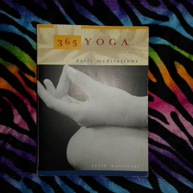 SPIRITUAL 365 Yoga Daily Meditations by Julie Rappaport