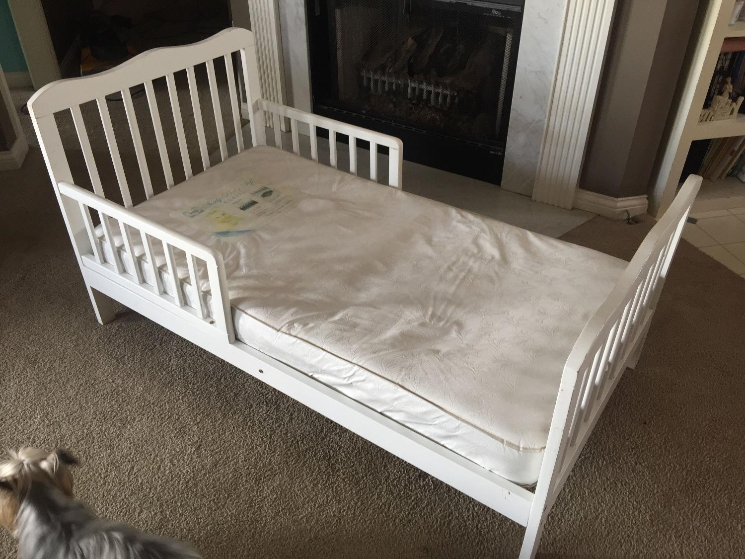 Find More White Wood Toddler Bed For Sale At Up To 90 Off
