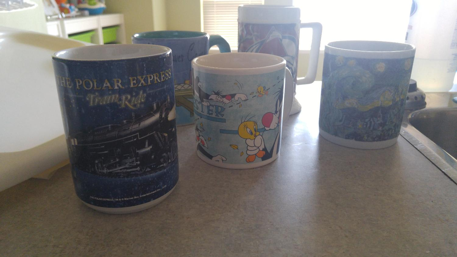 Best Set Of 5 Coffee Mugs For Sale In Ladner British
