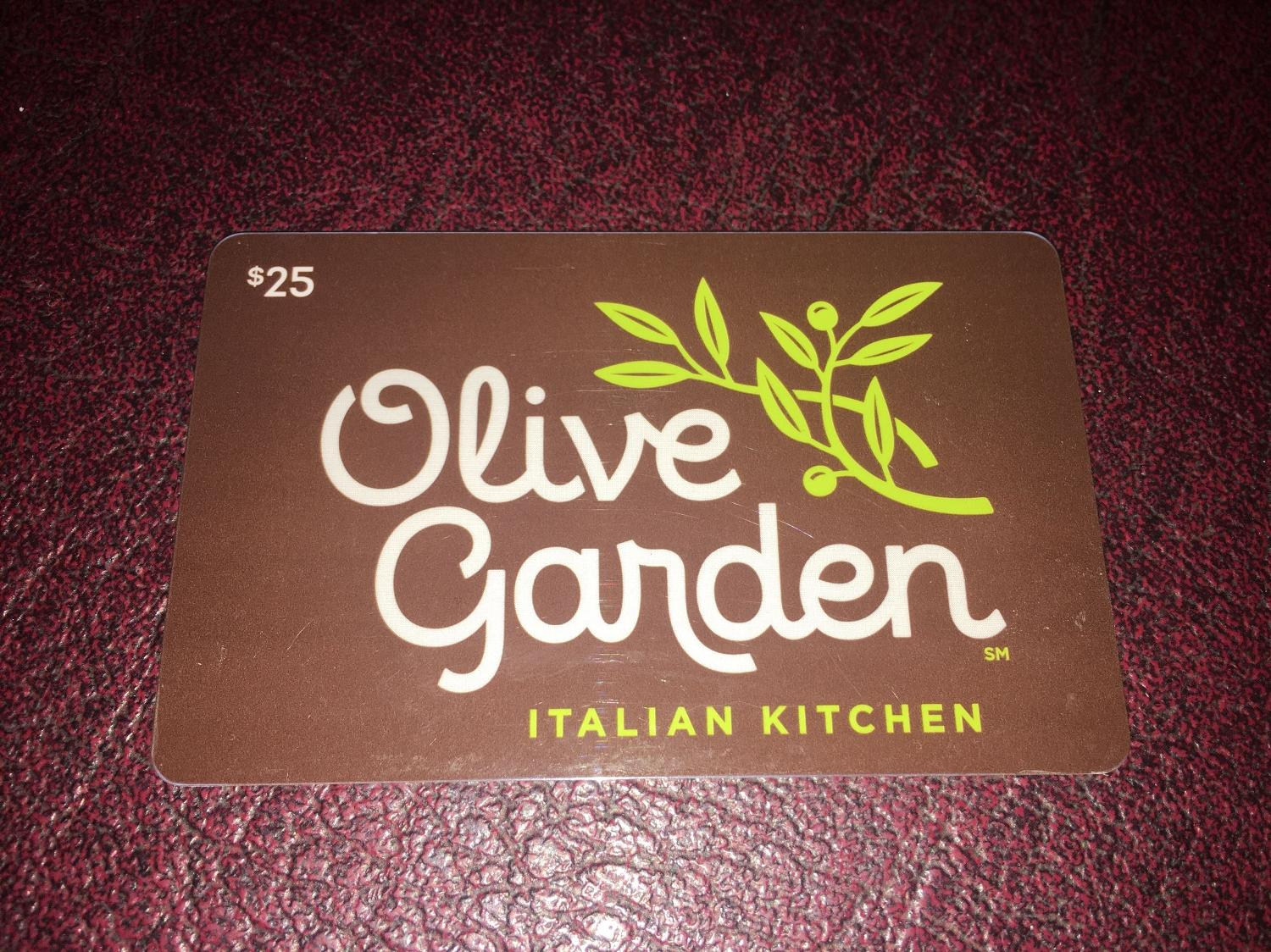 Find more olive garden gift card never used for sale at up - Olive garden gift card balance check ...
